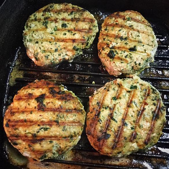 cilantro lime burger