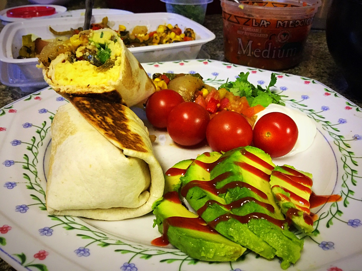 Low & Slow Scrambled Eggs & a Breakfast Burrito!