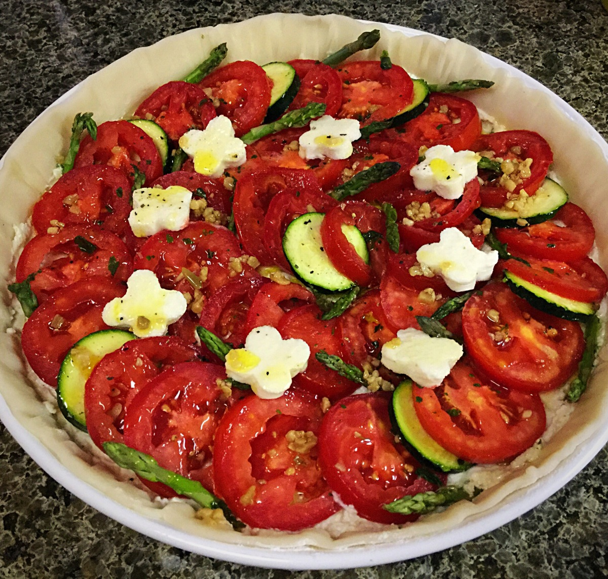 Oh You're SUCH a TART! Tomato Tarts!
