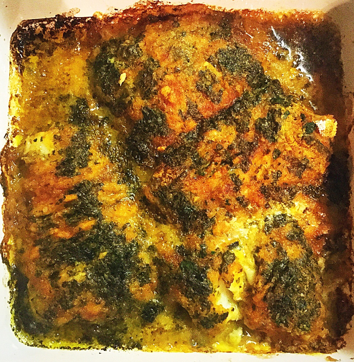 Lemon Cilantro Baked Cod Fillets