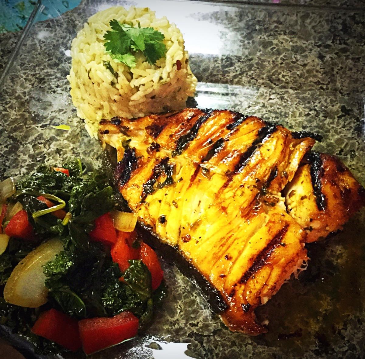 Grilled Cilantro LimeSwordfish