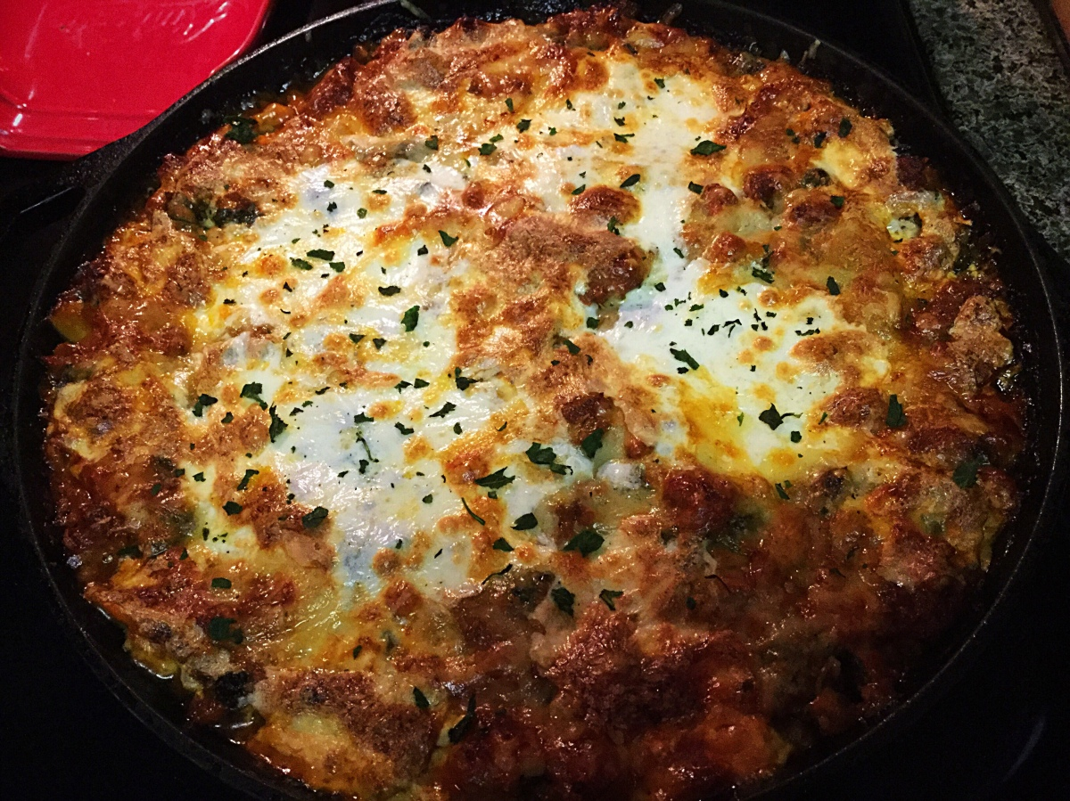 One Skillet Lasagna? I'll Take It! (So Will You!)
