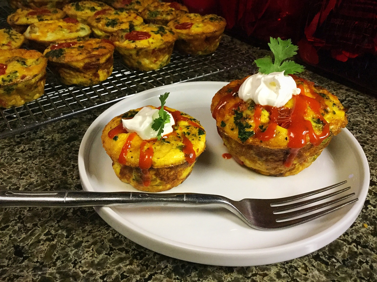 Crustless Quiche Cups to the Rescue!
