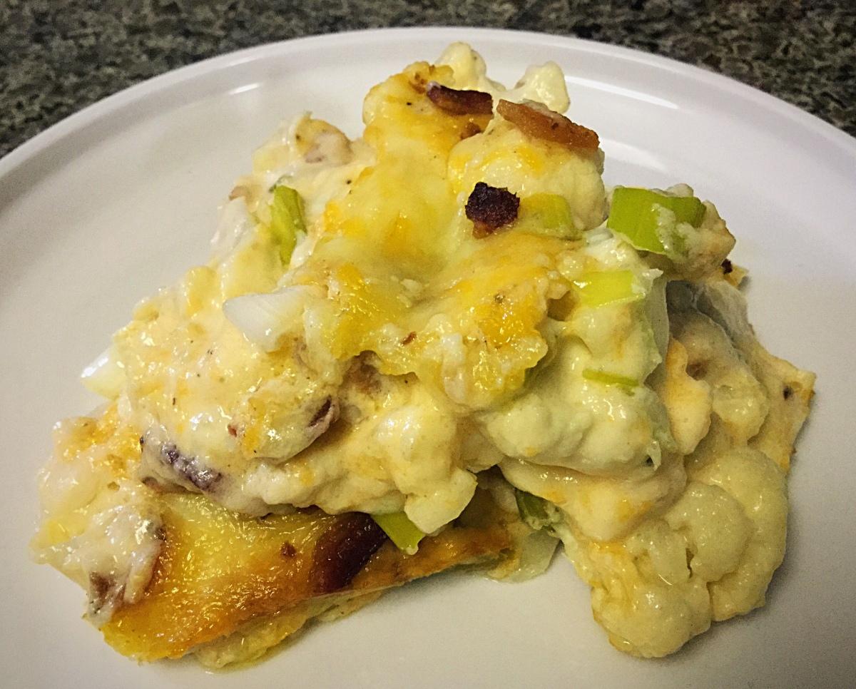 Dreamy Creamy CauliflowerCasserole