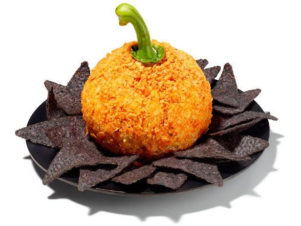 Pumpkin-Shaped Cheese Ball alaBobbe!
